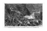 Attack on Quebec by General Montgomery, Morning of 31st December, 1755 Giclee Print