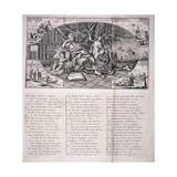Dutch Satire on the South Sea Bubble, 1720 Giclee Print