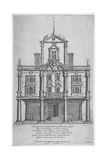 Duke's Theatre, Dorset Gardens, City of London, 1673 Giclee Print by William Sherwin