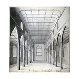 Interior View of the Church of St Andrew Undershaft, Leadenhall Street, London, C1820 Giclee Print by  Wheeler