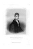 Robert Hamilton, Scottish Economist and Mathematician Giclee Print by William Holl II