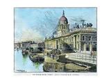 The Custom House, Dublin, Ireland, C1890 Giclee Print by Warwick Goble