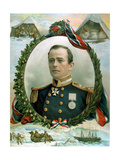 Robert Falcon Scott, British Antarctic Explorer, 1914 Giclee Print