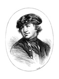 Commodore Robert Hopkins, American Naval Commander, from a Print of 1776 Giclee Print by  Whymper
