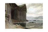 Fingal's Cave, Staffa, Outer Hebrides, Scotland. 1814 Impression giclée par William Daniell