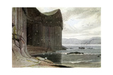 Fingal's Cave, Staffa, Outer Hebrides, Scotland. 1814 Giclee Print by William Daniell