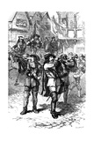 James II Proclaimed at Boston, 1685 Giclee Print by  Whymper