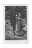 Scene from Adam Bede by George Eliot, C1885 Giclee Print by William Small