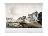 The Red House, Battersea, London, C1840 Giclee Print by William James Callcott