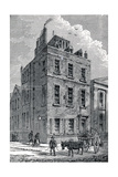 Sir Isaac Newton's House on the Corner of Orange and St Martin's Streets, London, C1880 Giclee Print