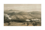 The Charge of the Light Brigade at the Battle of Balaclava, 25 October 1854, 19th Century Giclee Print by William Simpson