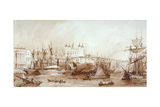 Tower of London, Stepney, London, C1840 Giclee Print by William Parrott