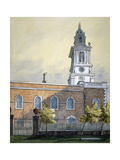 Church of St Botolph Without Bishopsgate, City of London, C1815 Giclee Print by William Pearson