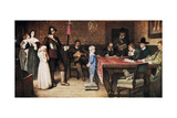 And When Did You Last See Your Father, 1878 Giclee Print by William Frederick Yeames
