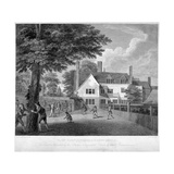 The Camberwell Free Grammar School, Camberwell, London, 1795 Giclee Print by William Bromley
