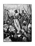Richard I, Coeur De Lion Landing at Sandwich, March 1194 Giclee Print by William Heysham Overend
