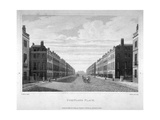 Portland Place, Marylebone, London, 1809 Giclee Print by William James Bennett