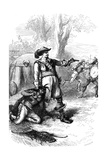 Colonel Atherton and the Indians Giclee Print by  Whymper