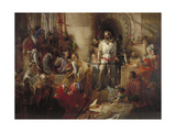 The Trial of Sir William Wallace at Westminster, C1831-1890 Giclee Print by William Bell Scott