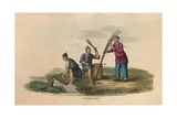 Papermaking in China, Ad 105 Giclee Print