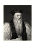 Cranmer, 19th Century Giclee Print by William Holl II
