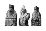 The Lewis Chessmen, (Norwegian), C1150-C1200 Giclee Print