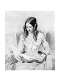 Queen Victoria Reading Despatches, C1840S Giclee Print by William Charles Ross
