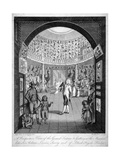 Interior View of the Leverian Museum, Albion Place, Southwark, London, C1795 Giclee Print by William Skelton