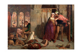 The Eve of St Agnes, 1848 Giclee Print by William Holman Hunt