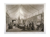 J Isabey's Exhibition Rooms on Pall Mall, Westminster, London, 1820 Giclee Print by William James Bennett