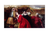 The Combat, Scene from the English Civil War, C1849-C1866 Giclee Print by William James Grant
