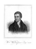 William Wilberforce, Philanthropist, Evangelical Christian and Anti-Slavery Campaigner, 1821 Giclee Print