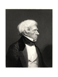 Lord Brougham, 19th Century Giclee Print by William Holl II