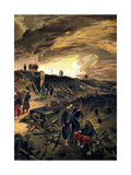 After the Taking of Malakoff on 8th September 1855, C1855 Giclee Print by William Simpson