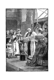 The Christening of Princess Louise, C1848 Giclee Print by William Heysham Overend