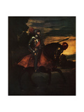 Charles V, Holy Roman Emperor, 1548 Giclee Print by  Titian (Tiziano Vecelli)