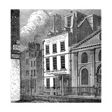 Isaac Newton's House, St Martin's Street, Leicester Square, London, C1850 Giclee Print