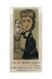 HM the Empress Eugénie, C1879 Giclee Print by  Faustin