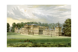 Wentworth Woodhouse, Yorkshire, Home of Earl Fitzwilliam, C1880 Giclee Print by Benjamin Fawcett