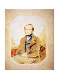 Charles Darwin, English Naturalist Giclee Print by George Richmond