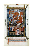 The Crucifixion of St Denis, 1317 Giclee Print