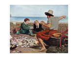 The Boyhood of Raleigh, 1908-1909 Giclee Print by John Everett Millais