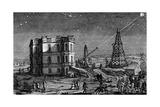 Paris Observatory, France, 1740 Stampa giclée