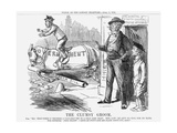 The Clumsy Groom, 1859 Giclee Print