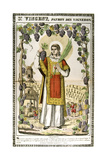 St Vincent, Spanish Christian Martyr, 19th Century Giclee Print