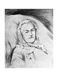 Miss Florence Nightingale, 1910 Giclee Print