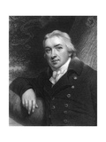 Edward Jenner, English Physician, 1837 Giclee Print