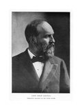 James Abram Garfield, 20th President of the United States, C1881 Giclee Print