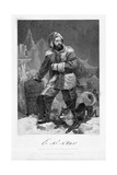 Elisha Kent Kane (1820-185), American Naval Surgeon and Arctic Explorer in Arctic Dress, 1862 Giclee Print by Alonzo Chappel