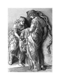 Judith and Holofernes, 1870 Giclee Print by Adrien Marie